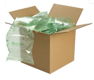 sustainable air pillow packaging